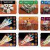 Karty budov a raketoplánů
