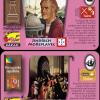 Karta říše - přední strana království  a zadní republiky